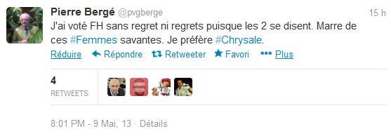 Pierre Bergé veut des bras et des utérus mais pas de cervelle