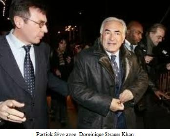 Patrick Sève avec Dominique Strauss Khan  - Pédocriminalité - Arche de Zoé